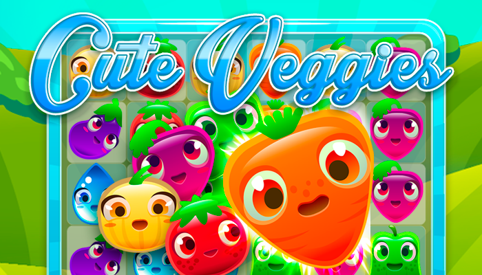 cute veggies game